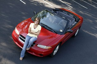 Woman with Car, Auto Insurance in San Antonio, TX
